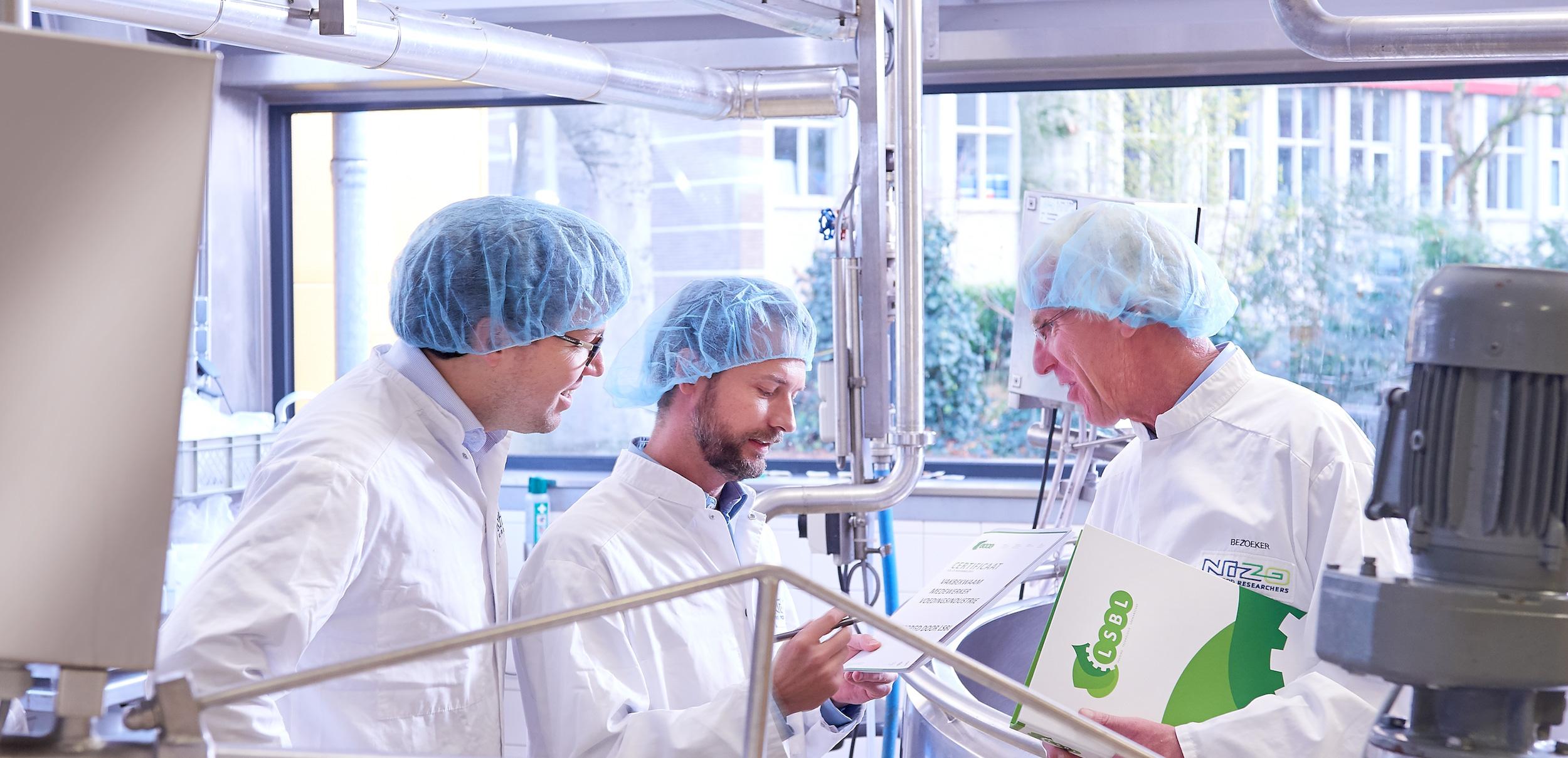 Diploma uitreiking levensmiddelentechnologen en industriële kaasmakers